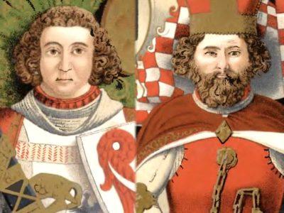 Bolko I Surowy i Bolko II Mały, im przypisuje się rozbudowę murowanego zamku