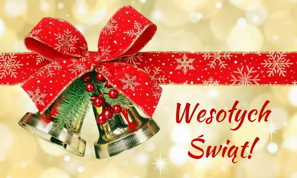 Spokojnych świąt Bożego Narodzenia I Szczęścia W Nowym 2018 Roku