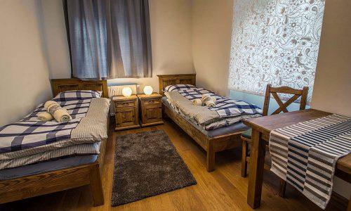 Pokoje noclegowe w Zamku Grodno